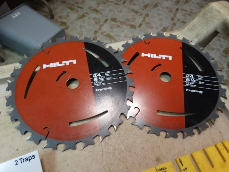 Hilti Circular Saw Blades, Appear To Be New – Expensive! | Central